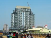 Konstruktion i Cambodja arkivfoton