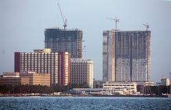 Konstruktion i Manila royaltyfri foto