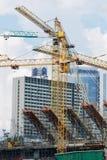 konstruktion kiev sections stadion Royaltyfri Foto