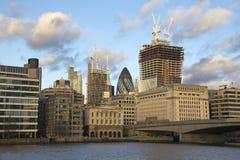 konstruktion london under Royaltyfri Fotografi