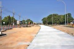 Konstruktion Maj 2019 f?r Waverley gatag?ngtunnel fotografering för bildbyråer