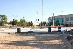 Konstruktion Maj 2019 f?r Waverley gatag?ngtunnel royaltyfri foto