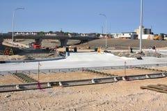Konstruktion Maj 2019 f?r Waverley gatag?ngtunnel arkivfoto