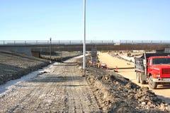 Konstruktion Maj 2019 f?r Waverley gatag?ngtunnel royaltyfria bilder
