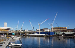 Konstruktion nära havet Royaltyfri Foto