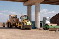 Konstruktion och reparation av huvudvägen Royaltyfri Fotografi