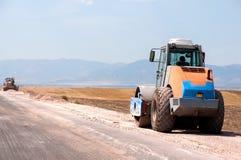Konstruktion och reparation av huvudvägen Royaltyfri Foto