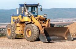 Konstruktion och reparation av vägar och huvudvägar Royaltyfri Fotografi