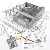 Konstruktion Renewables Real Estate i Europa och USA vektor illustrationer