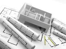 Konstruktion Renewables Real Estate i Europa och USA Royaltyfria Foton