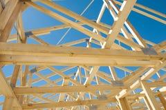 konstruktion som inramniner home nytt Royaltyfria Foton