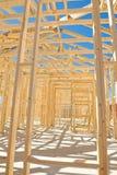 konstruktion som inramniner home nytt Royaltyfri Fotografi