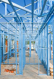 konstruktion som inramniner home nytt Arkivbilder