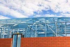 konstruktion som inramniner home nytt Royaltyfri Bild