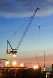 konstruktion sträcker på halsen borrtornlokalen Royaltyfri Foto