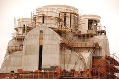 Konstruktionen av kyrkan arkivfoton