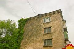 konstruktioner av den dolda murgrönan för Sovjetunionen tider Arkivfoto
