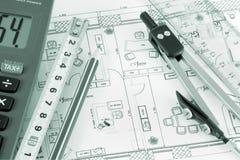 Konstruktionsbüro Lizenzfreie Stockbilder