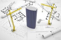 Konstruktionsbegrepp Fotografering för Bildbyråer