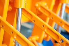 konstruktionscylinderstål Royaltyfri Foto