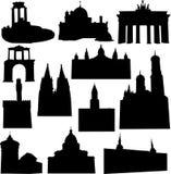 konstruktionseuropean vektor illustrationer