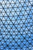 konstruktionsexponeringsglastak Arkivbild