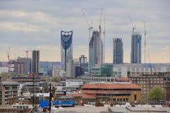KonstruktionsFN London Royaltyfria Bilder