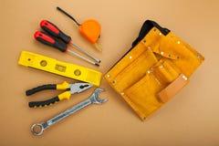 konstruktionshammaren tools fönstret arkivfoton