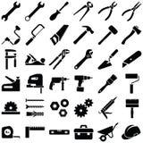 konstruktionshammaren tools fönstret Royaltyfria Foton