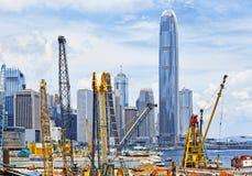 konstruktionsHong Kong lokal Arkivbilder