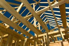 konstruktionshus Royaltyfria Bilder