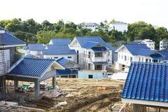 konstruktionshus under Royaltyfri Foto