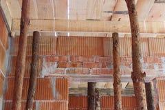 konstruktionshus under Fotografering för Bildbyråer