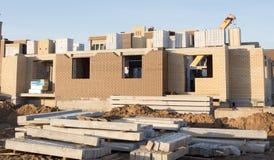 konstruktionshus under Arkivfoton