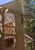 konstruktionshus under arkivbilder