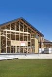 konstruktionshuslokal Fotografering för Bildbyråer