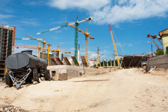 konstruktionskiev stadion Arkivbilder