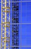 konstruktionskran royaltyfri fotografi
