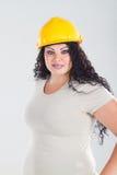konstruktionskvinna Arkivbilder