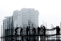 konstruktionslokal Arkivbild