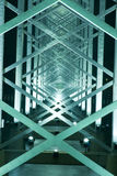 konstruktionsmetall Arkivfoto