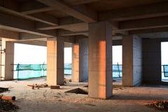 Konstruktionsplats Arkivbild