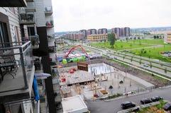 Konstruktionsplats 10 Royaltyfri Foto