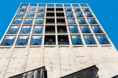 Konstruktionsplats av det nya Zeitz museet av samtida konst av Afrika i Cape Town Fotografering för Bildbyråer
