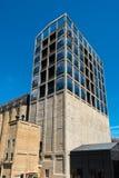 Konstruktionsplats av det nya Zeitz museet av samtida konst av Afrika i Cape Town royaltyfri fotografi