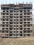 Konstruktionsplats i Pune Indien Arkivbilder