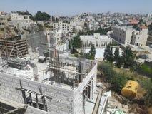 Konstruktionsplats Palestina fotografering för bildbyråer