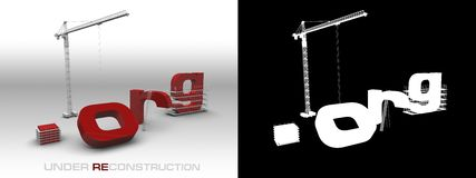 konstruktionsprickorg under royaltyfri illustrationer