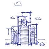 konstruktionsprojekt Royaltyfri Illustrationer