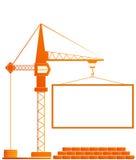 konstruktionssignboard Arkivfoton